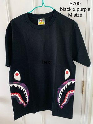 Bape A Bathing Ape Shark Tee