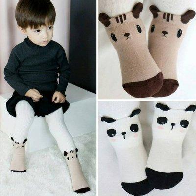 可愛厚款幼兒/ 寶寶襪,灰色雲朵、藍色月亮、棕色松鼠、白色熊貓 高雄市