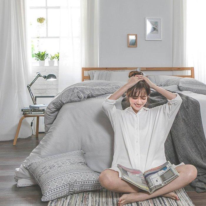 床包兩用被組 / 雙人【爵色風華】含兩件枕套  60支天絲  戀家小舖台灣製AAU215