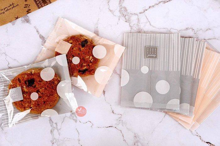餅乾袋_橘子軟糖(橘粉)/月光銀(銀色)_約100入_BP-049-O/BP-049-S◎餅乾袋.包裝袋.西點袋