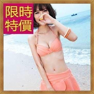 比基尼泳裝二件式精美俏麗-繽紛自然典雅沙灘必備女泳衣8色54g76 [正韓進口][米蘭精品]