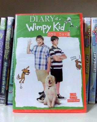 *【英語兒童教育DVD】小pen外文~~Diary of a Wimpy kid~~DOG DAYS 小屁孩日記電影版