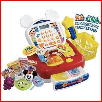 日本 TAKARA TOMY 迪士尼 DISNEY 英日語 語音學習 收銀機 可掃描 寶寶成長學習 LUCI日本代購
