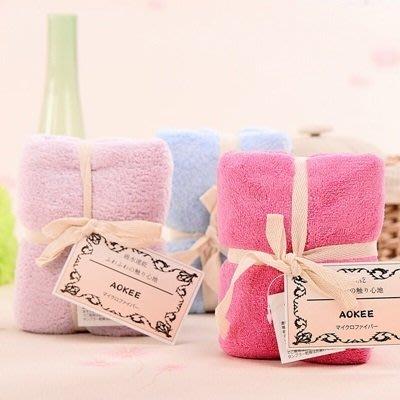 毛巾 珊瑚絨毛巾(1入)-速乾吸水馬卡龍色婚禮小物18色73pp490[獨家進口][米蘭精品]