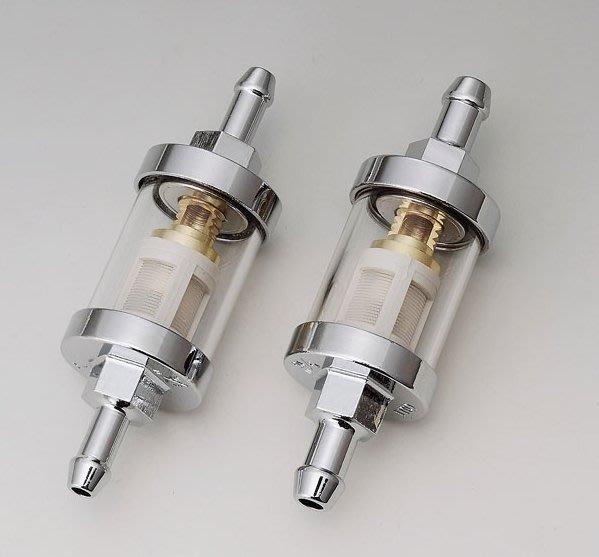 (I LOVE樂多)可拆洗 金屬汽油濾杯 (6 &8 mm都有) 哈雷.883.Dyna.SR400.W800可用