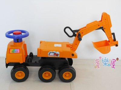 高雄玩具~兒童挖土機~可騎乘兒童怪手-...
