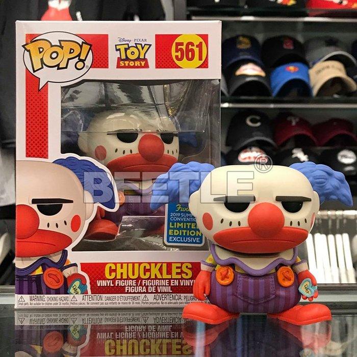 BEETLE 現貨 FUNKO POP 玩具總動員 CHUCKLES 小丑 TOY STORY