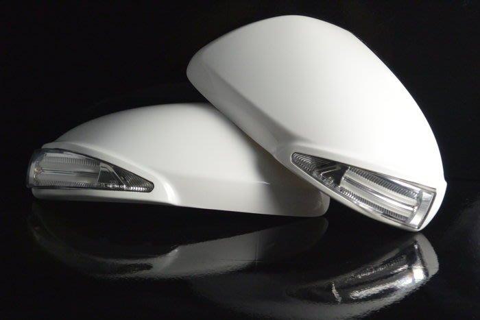 金強車業 MAZDA 3 2008-2013 原廠部品 改裝後視鏡殼 雙功能側燈 素材款