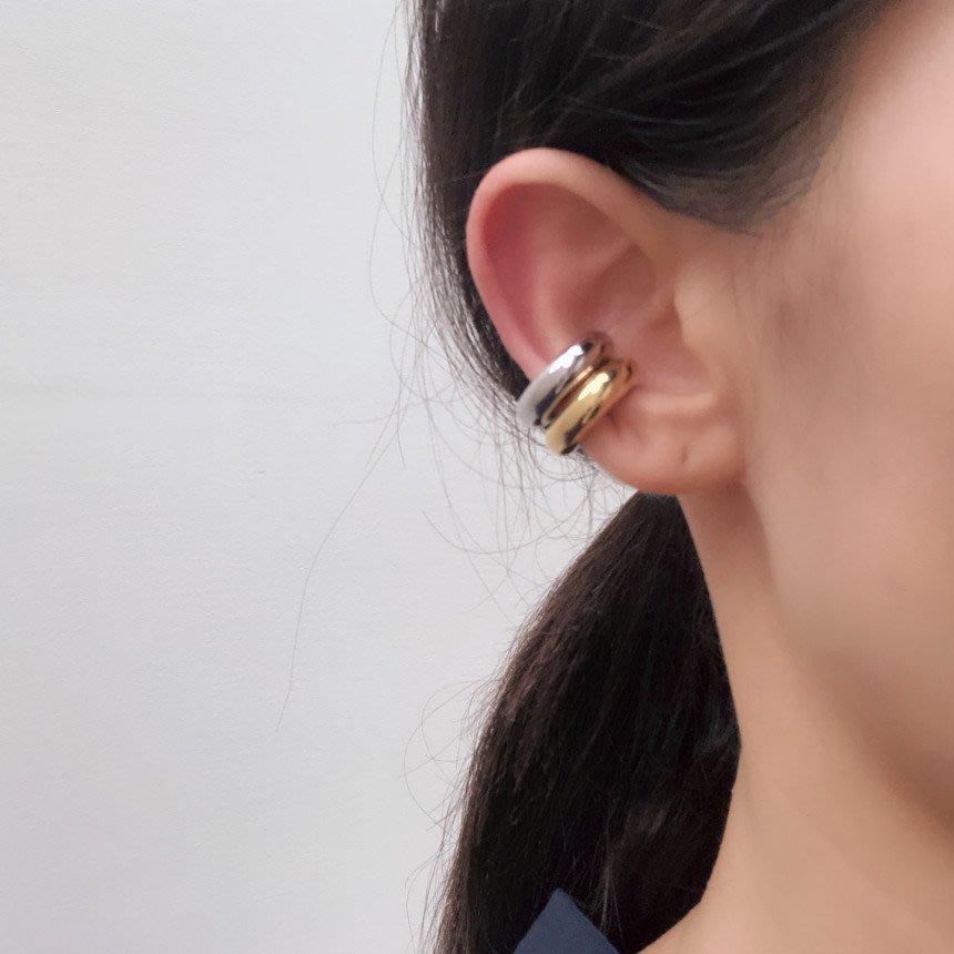 Exaggerated 厚圈耳骨夾 耳夾  Simple Modern [正韓] 韓國連線 【NN037】