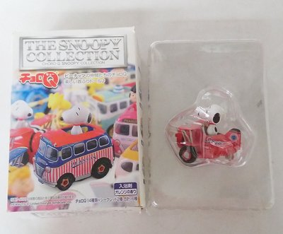 THE SNOOPY COLLECTION CHORO-Q SNOOPY COLLECTION Q車 盒蛋 1 種