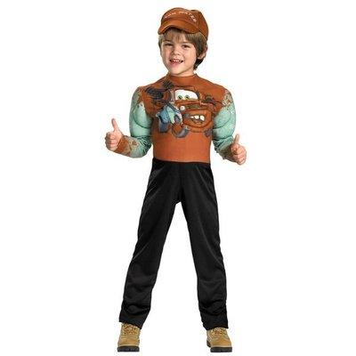 【聖誕節、派對造型服】美國迪士尼Cars 2 Tow Mater  拖線造型服(4-6歲/7-8歲)