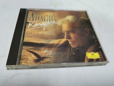 昀嫣音樂(CD3) ADAGIO KARAJAN  片況如圖 售出不退 可正常播放