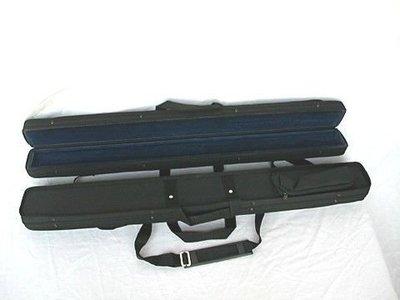 皇家樂器~全新美國Bobelock 法式窄弓,可背可提,黑色低音提琴弓盒