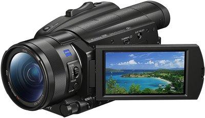 【高雄四海】SONY FDR-AX700 攝影機.全新平輸一年保固.超級慢動作錄製.12X光學變焦 AX700
