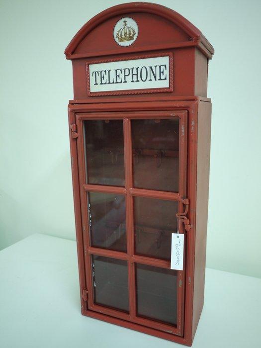 【布拉格歐風傢俱】英倫鐵製鑰匙盒key box(鎖盒收納箱收納櫃 店面 櫥窗 民宿 婚紗攝影)
