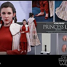旺角店鋪現貨全新未開 Hottoys Star Wars 星球大戰 Episode V Princess Leia Bespin MMS508
