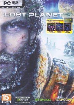 [哈GAME族]PC GAME 失落的星球3 英日文合版 首批附限量下載特典