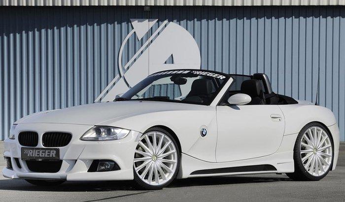 【樂駒】RIEGER BMW Z4 E85 side skirt 側裙 飾板 車側 車身 空力 外觀 套件 加裝