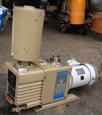 日本優貝克ULVAC VD-401 2HP油式真空幫浦/真空機/真空脫泡機/抽冷媒可用(外匯品狀況超優)