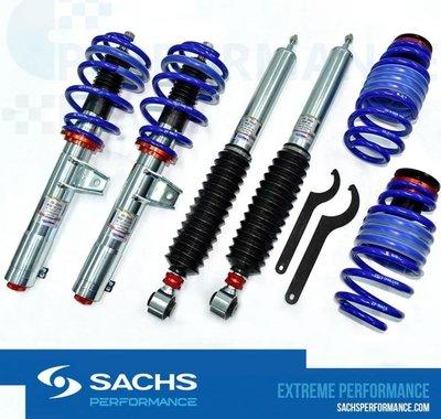 預購  BMW E46 Sachs performance CSS 高低軟硬可調避震器組,pss9 kw 桃園市