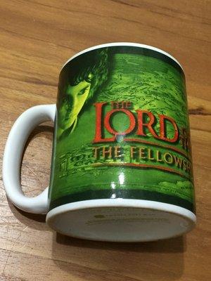 魔戒 The Lord Of The Rings  馬克杯 紀念 收藏 (綠色系)