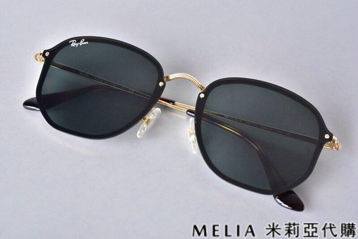 Melia 米莉亞代購 商城特價 每日更新 19ss Ray Ban RB3579 切邊太陽眼鏡 墨鏡 金框 灰鏡