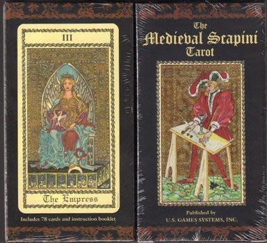 【牌的世界】中世紀藝術塔羅牌 Medieval Scapini Tarot Deck