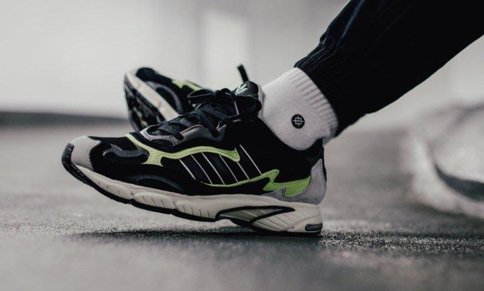 ADIDAS TEMPER RUN  黑 灰 綠 ZX 慢跑鞋 老爹鞋 F97209