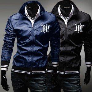 yes99buy加盟-2014秋冬새로운男士外套 韓味男式戶外休閒夾克 立領男款撞色男夾克