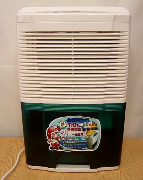 @全機保固1年【小劉二手家電】內部非常新少用的大同TIO2光觸媒節能除濕機,可定時,TWD-710B