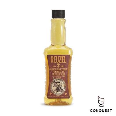 【 CONQUEST 】荷蘭Reuzel Grooming Tonic 500ml 順髮液 順髮露 熱塑打底吹整 蓬鬆感