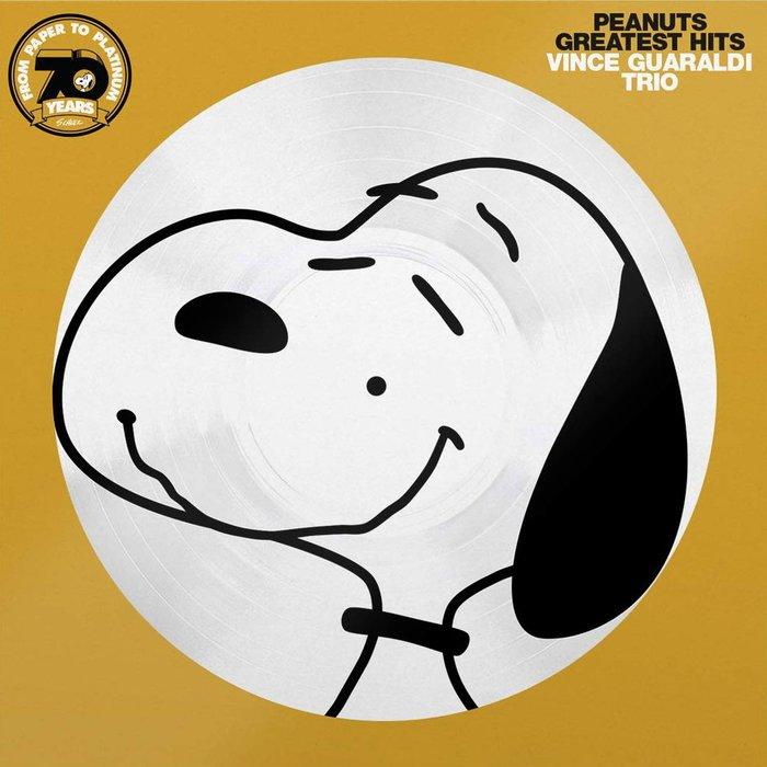 Peanuts Greatest Hits SNOOPY史奴比花生米卡通配樂精選集限量版文西葛若迪三重奏LP彩膠唱片