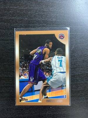 Marcus Camby Topps 籃球卡