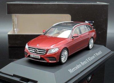 【MASH】[現貨特價]  原廠 Kyosho 1/43 Mercedes E-Klasse S213 T-Model紅