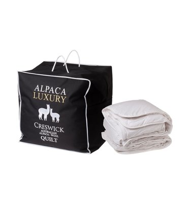 Creswick 澳洲高級純羊駝被(羊毛被),Alpaca Queen Bed Quilt,50%羊毛+50%羊駝。