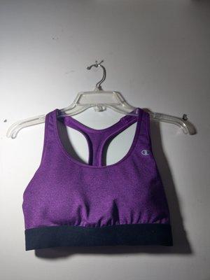 champion紫色運動內衣,附胸墊,約九成新 高雄市