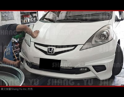 本田 HONDA FIT MODULO 前下巴 套件 2008 2009 2010