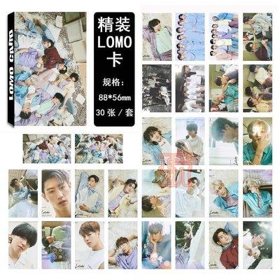 現貨出清⚠盒裝✨GOT7  LOMO明星小卡片 照片紙卡片組 Lullaby同款E822-H 【玩之內】韓國王嘉爾朴珍榮