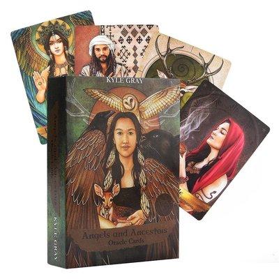 Angels and Ancestors Oracle Cards 天使與祖先神諭卡英文版55張卡牌商品規格不同 售價不同@om22539