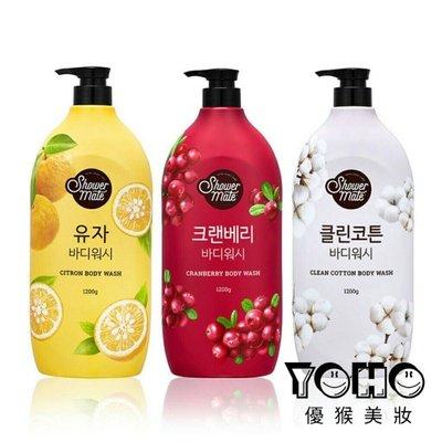 【優猴】韓國 shower mate 微風如沐果香沐浴露 1200ml