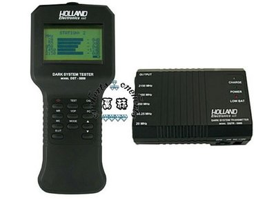 ㊣OneHerts㊣ Holland RF Dark System Cable Wiring Tester DST5000黑暗的系統測試器@