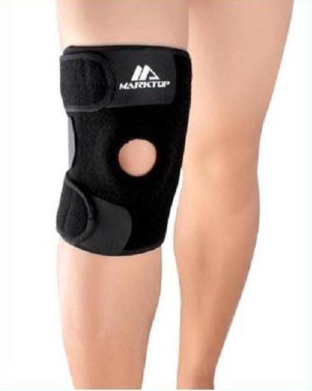 KARKTOP四鋼彈簧矽膠加強保護型運動護膝單個特價350元