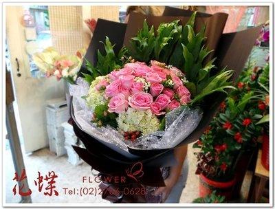 進口玫瑰花33朵玫瑰花束~濃情密意超級浪漫花禮 ~Florist Taipei Taiwan