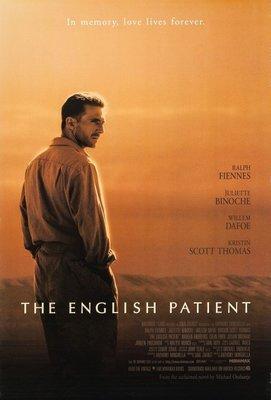 英倫情人-The English Patient (1996)原版電影海報