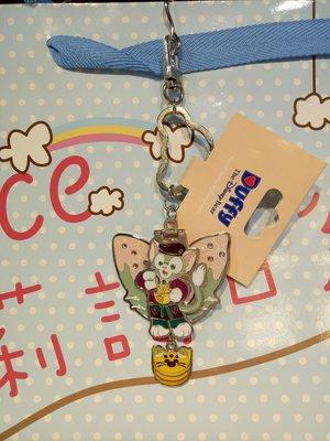 ☆愛莉詩☆香港帶回-香港廸士尼-鐵製鑰匙圈附鏡子-東尼