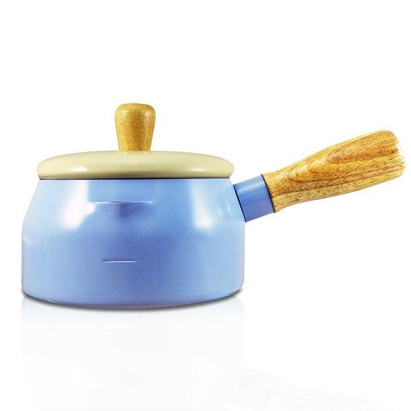 【橘子水】14cm巧克力牛奶多用途鍋 (藍)