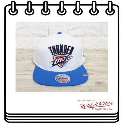 【Drawer】MITCHELL & NESS NBA 大LOGO 雷霆隊 棒球帽 帽子 CAP Westbrook 西