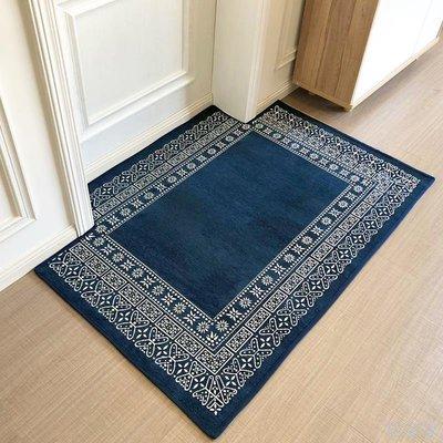 居家家 日系簡約進門地毯門墊家用客廳地毯茶幾墊防滑吸水入戶門地墊