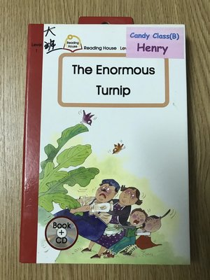 【MY便宜二手書/童書*】Reading House:The Enormous Turnip│敦煌書局