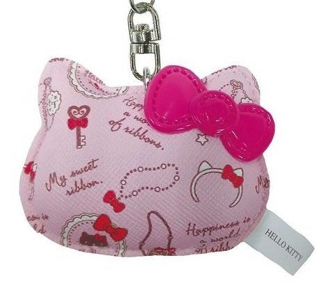 Gift41 4165本通 每日一物 4/2 HELLO KITTY  頭型鑰匙 日本限定 共三款